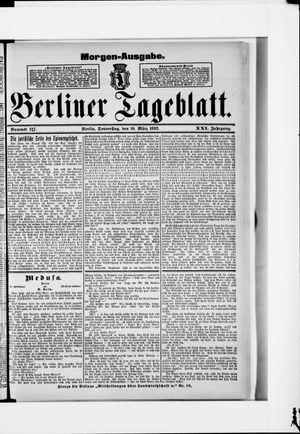 Berliner Tageblatt und Handels-Zeitung vom 10.03.1892