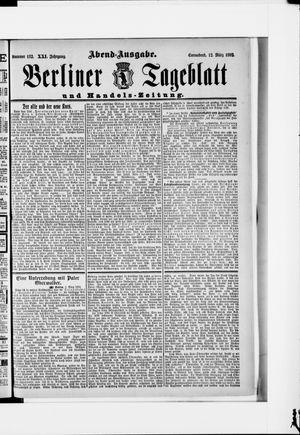 Berliner Tageblatt und Handels-Zeitung vom 12.03.1892