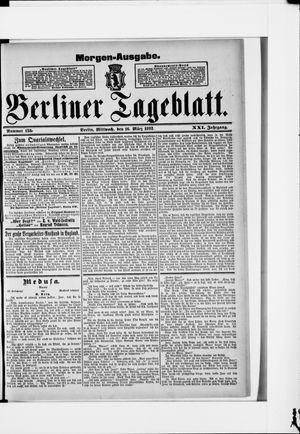 Berliner Tageblatt und Handels-Zeitung vom 16.03.1892