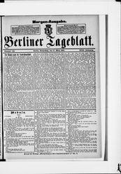 Berliner Tageblatt und Handels-Zeitung (17.03.1892)