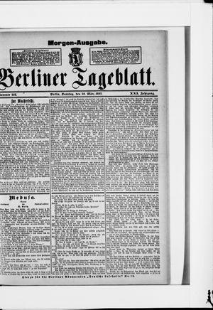 Berliner Tageblatt und Handels-Zeitung vom 20.03.1892