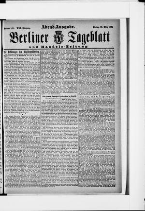 Berliner Tageblatt und Handels-Zeitung vom 28.03.1892