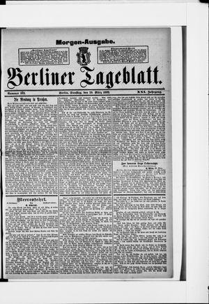 Berliner Tageblatt und Handels-Zeitung vom 29.03.1892