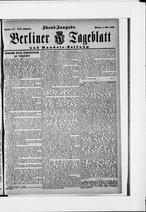 Berliner Tageblatt und Handels-Zeitung on Apr 4, 1892