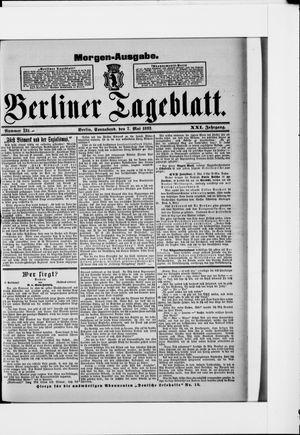 Berliner Tageblatt und Handels-Zeitung vom 07.05.1892