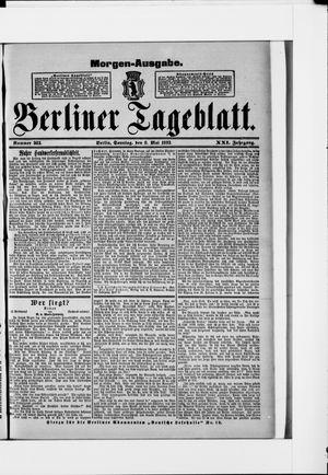 Berliner Tageblatt und Handels-Zeitung vom 08.05.1892