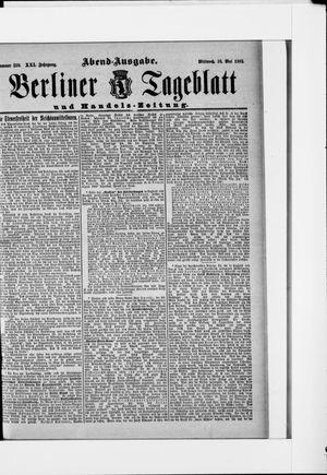 Berliner Tageblatt und Handels-Zeitung vom 18.05.1892