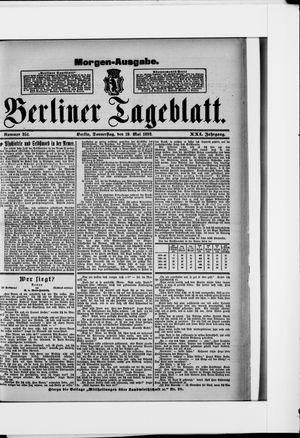 Berliner Tageblatt und Handels-Zeitung vom 19.05.1892