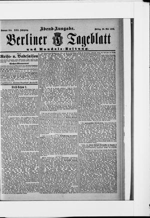 Berliner Tageblatt und Handels-Zeitung vom 20.05.1892