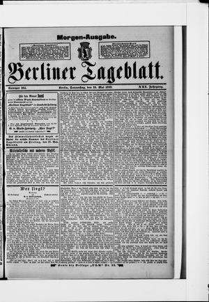 Berliner Tageblatt und Handels-Zeitung vom 26.05.1892
