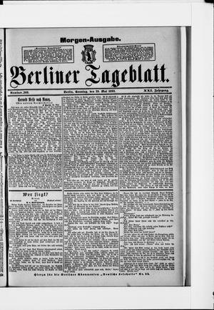 Berliner Tageblatt und Handels-Zeitung vom 29.05.1892