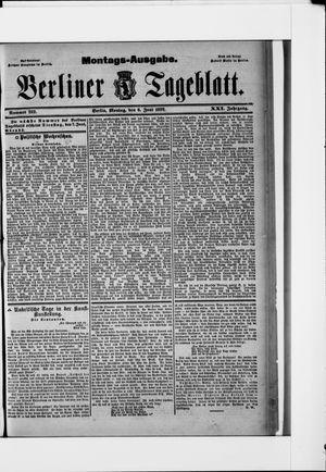Berliner Tageblatt und Handels-Zeitung vom 06.06.1892