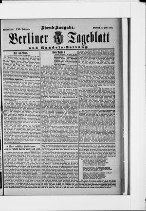Berliner Tageblatt und Handels-Zeitung vom 08.06.1892