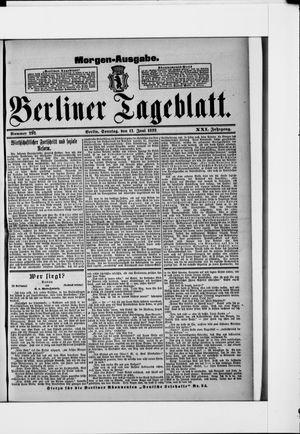 Berliner Tageblatt und Handels-Zeitung vom 12.06.1892