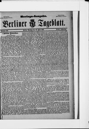 Berliner Tageblatt und Handels-Zeitung vom 27.06.1892