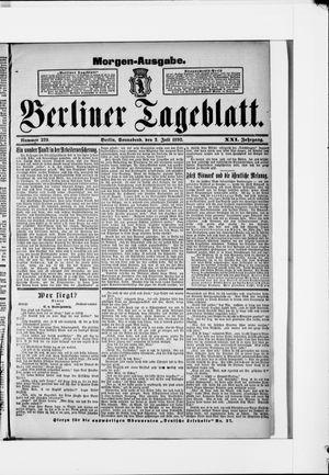 Berliner Tageblatt und Handels-Zeitung vom 02.07.1892