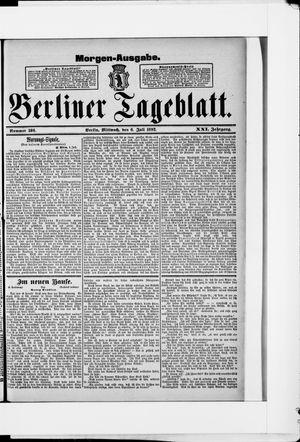Berliner Tageblatt und Handels-Zeitung vom 06.07.1892