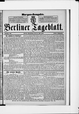 Berliner Tageblatt und Handels-Zeitung vom 16.07.1892
