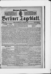 Berliner Tageblatt und Handels-Zeitung (24.09.1892)