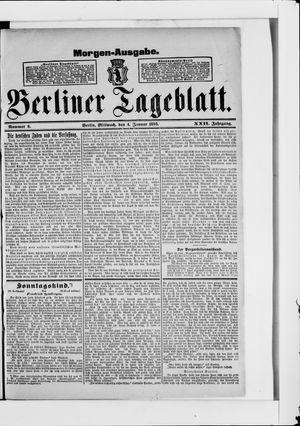 Berliner Tageblatt und Handels-Zeitung vom 04.01.1893