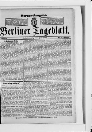Berliner Tageblatt und Handels-Zeitung vom 05.01.1893