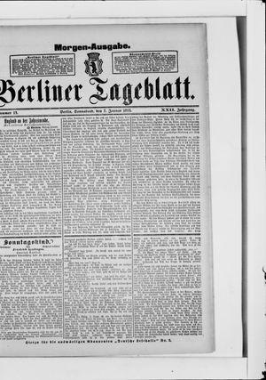 Berliner Tageblatt und Handels-Zeitung on Jan 7, 1893