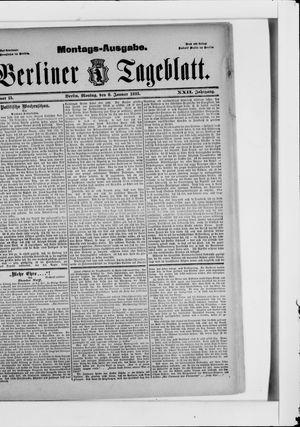Berliner Tageblatt und Handels-Zeitung vom 09.01.1893