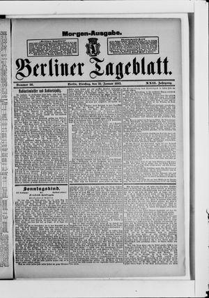 Berliner Tageblatt und Handels-Zeitung vom 31.01.1893