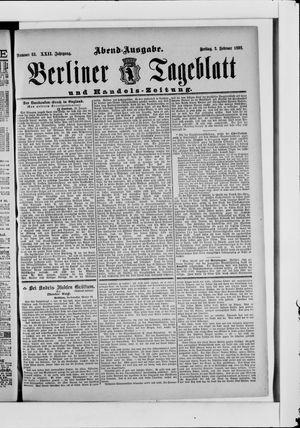 Berliner Tageblatt und Handels-Zeitung vom 03.02.1893