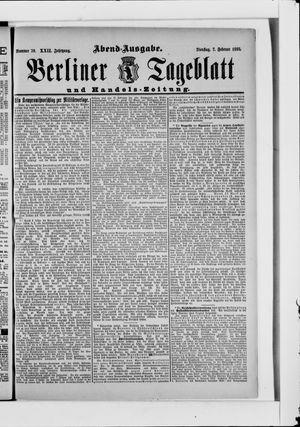 Berliner Tageblatt und Handels-Zeitung vom 07.02.1893