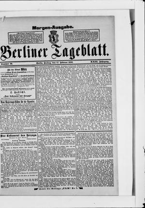Berliner Tageblatt und Handels-Zeitung vom 17.02.1893