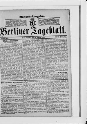 Berliner Tageblatt und Handels-Zeitung vom 28.02.1893