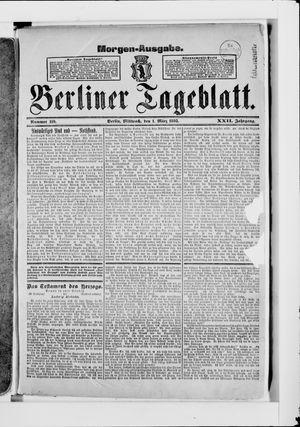 Berliner Tageblatt und Handels-Zeitung vom 01.03.1893