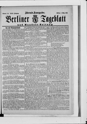Berliner Tageblatt und Handels-Zeitung vom 03.03.1893