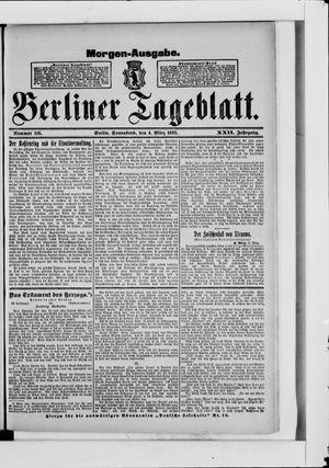 Berliner Tageblatt und Handels-Zeitung vom 04.03.1893
