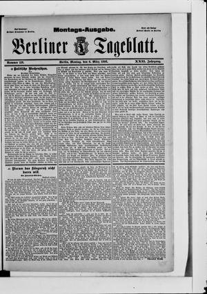 Berliner Tageblatt und Handels-Zeitung vom 06.03.1893