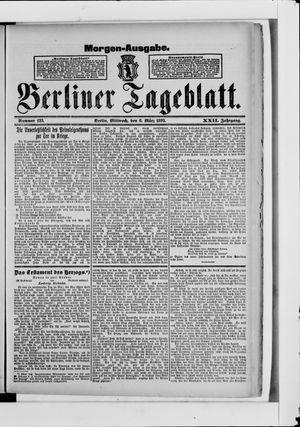 Berliner Tageblatt und Handels-Zeitung vom 08.03.1893