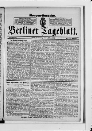Berliner Tageblatt und Handels-Zeitung vom 09.03.1893