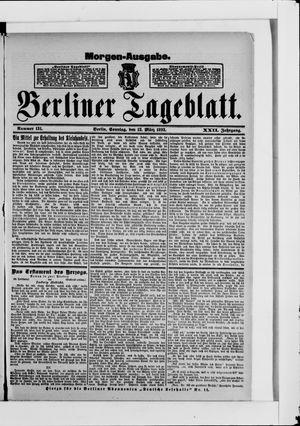 Berliner Tageblatt und Handels-Zeitung vom 12.03.1893