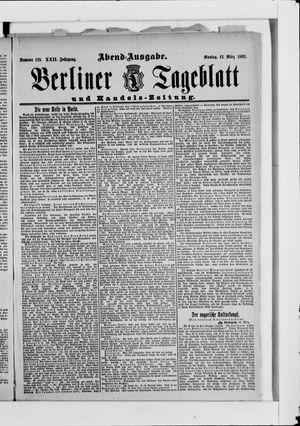 Berliner Tageblatt und Handels-Zeitung vom 13.03.1893