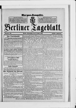 Berliner Tageblatt und Handels-Zeitung vom 16.03.1893