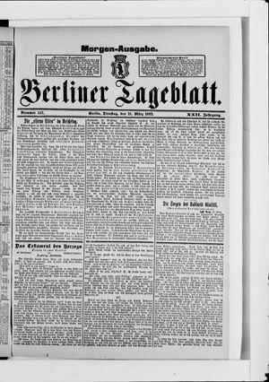 Berliner Tageblatt und Handels-Zeitung vom 21.03.1893