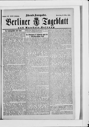 Berliner Tageblatt und Handels-Zeitung vom 23.03.1893