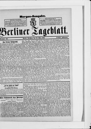 Berliner Tageblatt und Handels-Zeitung vom 28.03.1893