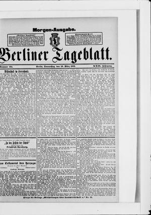 Berliner Tageblatt und Handels-Zeitung vom 30.03.1893