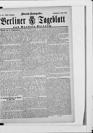 Berliner Tageblatt und Handels-Zeitung vom 06.04.1893