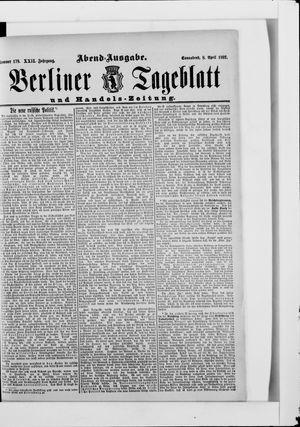 Berliner Tageblatt und Handels-Zeitung vom 08.04.1893