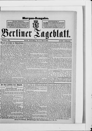 Berliner Tageblatt und Handels-Zeitung vom 13.04.1893