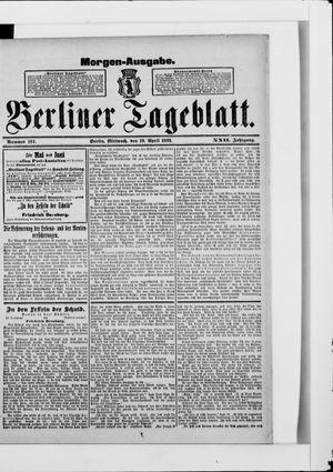 Berliner Tageblatt und Handels-Zeitung vom 19.04.1893