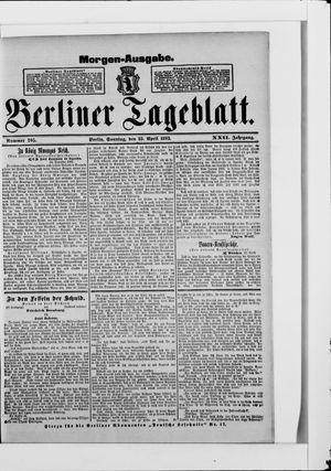 Berliner Tageblatt und Handels-Zeitung on Apr 23, 1893